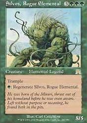 Magic: The Gathering Silvos, Rogue Elemental Onslaught Foil