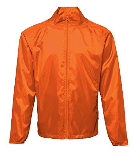 MAKZ Herren Mantel Orange