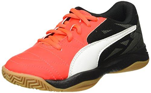 pumaveloz-indoor-iii-jr-zapatillas-deportivas-para-interior-ninos-ninas-color-rojo-talla-34-eu
