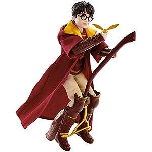 Harry Potter Muñeco Harry Quidditch, juguetes niños + 6 años (Mattel GDJ70) 2