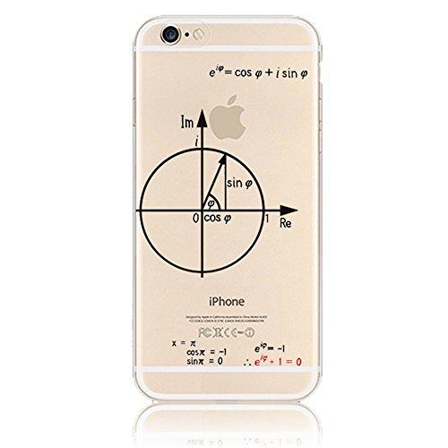 Sunroyal iPhone SE 5 5S iPhone 5SE Kreativ Logo Hülle Case Transparent Handyhülle Schutzhülle Durchsichtig TPU Crystal Clear Case Backcover Bumper Slimcase Bildserie Weich Silikon Schutzhülle Anti- St Pattern 10