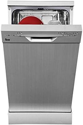 Teka LP8 410 Independiente 9cubiertos A+ lavavajilla - Lavavajillas (Independiente, Acero inoxidable, Slimline (45 cm), Acero inoxidable, Botones, 9 cubiertos)