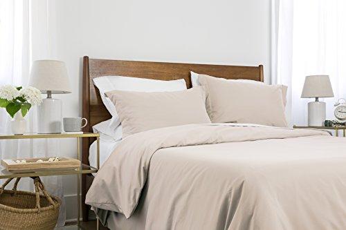 Hemd southshore Essentials-Easy Etui und Weichem 3-teilig Bettbezug Sets Twin/Twin XL Knochenfarben - Twin Full Loft
