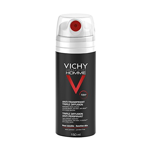VICHY HOMME Desodorante Spray Antitranspirante Triple