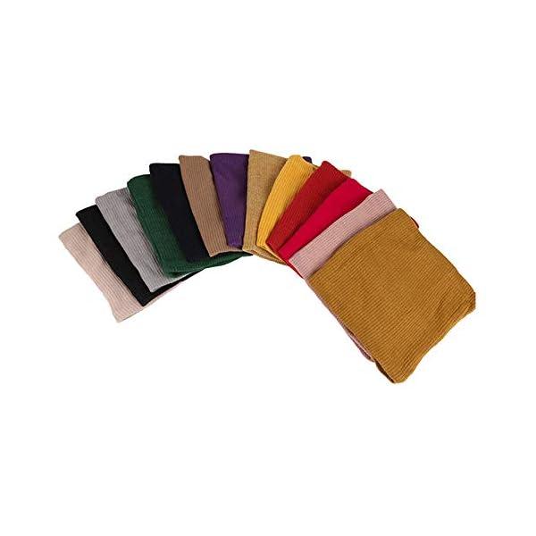 LAAT 1PCS Cuello de Bufanda Bufanda Multiusos Invierno De Las Bufandas De Cuello Collar Bufanda Cuello de Cuello de… 3