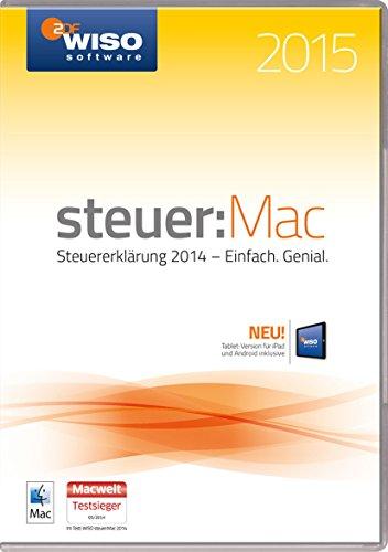 Preisvergleich Produktbild WISO steuer:Mac 2015 (für Steuerjahr 2014 / Frustfreie Verpackung)