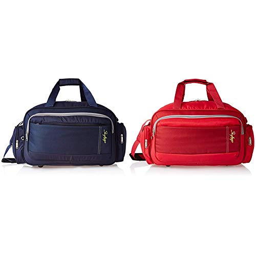 Skybags Cardiff Polyester 55 cms Blue Travel Duffle + Cardiff Polyester 55...