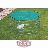 Trixie 6251 Netz m. Sonnenschutz für 6250/6253, 1,10 × 1,10 m
