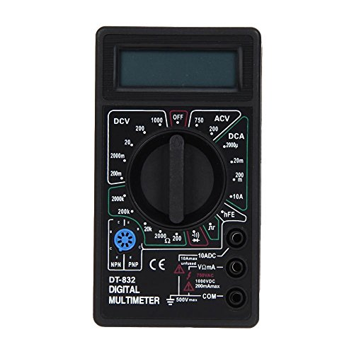 everpert dt832Digital LCD-Voltmeter Amperemeter Ohm Tester Digital Multimeter