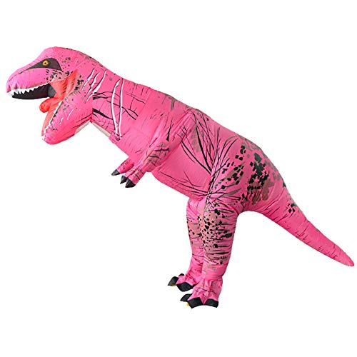 CQY Inflatable Costume Aufblasbares Dinosaurier Lustige Kleid Halloween Vonausder Jurassic World Fancy Dress T-Rex Anzüge Festival Erwachsene Kind ()