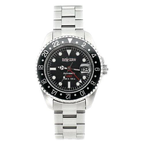 Nautec No Limit Herrenarmbanduhr Deep Sea DS GMT/STBK -