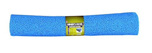SE GP-MT420-3BL 36 x 60 Miner's Moss (Sluice Box Matting) in Blue by SE