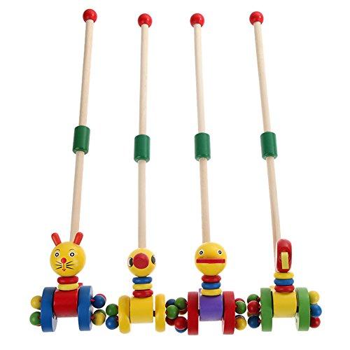 Demiawaking-Cartoon-Baby-Schiebelaufrad-Coagent-Kleinkind-Kind-Setzen-Tiere-Holz-Puzzlespiel-Laufkatze-Spielzeug