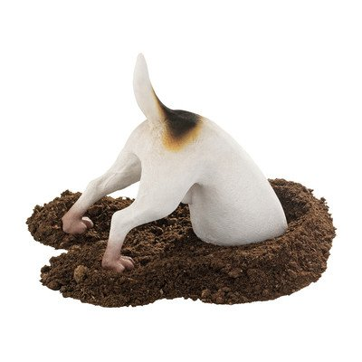 Design Toscano Terrence the Terrier Digging Pet Dog Statue
