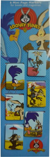 set-of-6-mini-magnetic-bookmarks-road-runner-and-wile