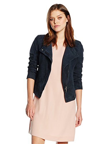 BOSS Orange Damen Jacke Jopida4, Blau (Dark Blue 407), 40