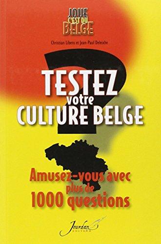 Testez votre culture belge