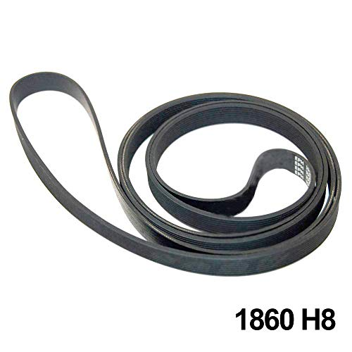 Spares2go 1860 H8 Antriebsriemen für Hoover Wäschetrockner -