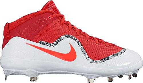 Nike Herren Force Air Trout 4 Pro Baseball Cleat, Rot (University Red/University Red-White), 47 EU M -