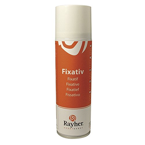RAYHER HOBBY 3401300 Fixativ-Spray, Dose 300 ml