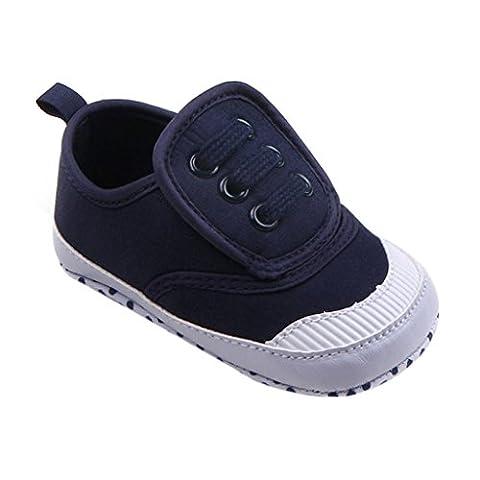 Baby Weiche Schuhe, FNKDOR Jungen Mädchen Lauflernschuhe Rutschfest für Neugeborene