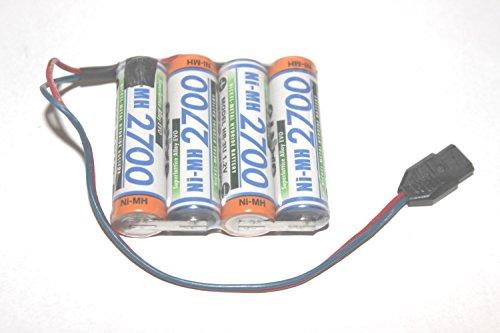 Sanyo Akku E - Pack 4,8V 2700mAh Ni-MH F1x4 passend für MPX Rc 119485