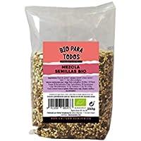 Bio para todos Mezcla de Semillas Para Pan de - 12 Paquetes de 250 gr -
