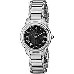 Fendi Women's F251021000 Classico Analog Display Quartz Silver Watch