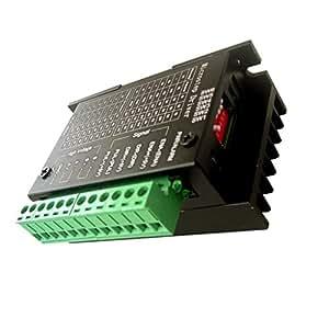 MagiDeal 42/57/86 TB6600 Driver Motore Passo-Passo 32 Segmenti Aggiornato Versione 4.0A 9V-42V DC Controller Del Motore