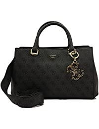 GUESS Joleen Girlfriend Satchel Coal