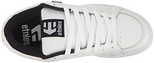 Etnies Kingpin, Sneakers basses homme Blanc (White/navy)