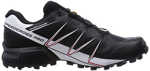 Salomon Speedcross Pro, Chaussures de trail homme Black