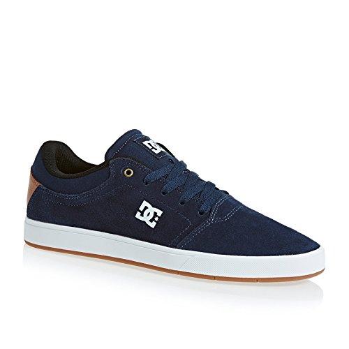 Dcs Crisis M Shoe - Scarpa da Skateboard, , taglia NAVY/WHITE