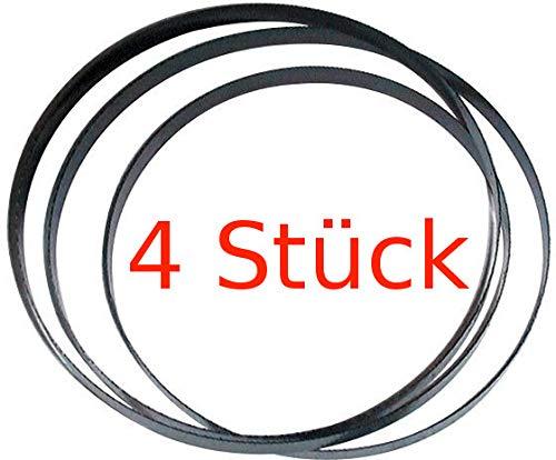 Powershop4u GÜDE 4 x SÄGEBAND für Metallbandsäge MBS115 1640 x 13 x 0,65 mm 14Z Ersatzband