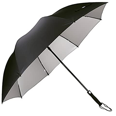 G4Free 62 Inch Golf Umbrella Silver Coating Large Canopy Windproof Waterproof Automatic Open Sun Protection Stick Umbrellas for Men and
