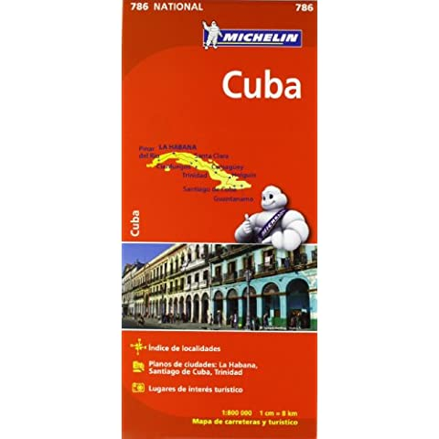 Mapa National Cuba (Mapas National Michelin)