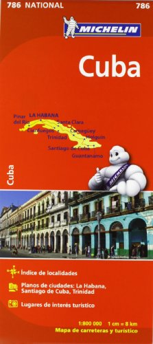 Mapa National Cuba (Mapas National Michelin) por Vv.Aa