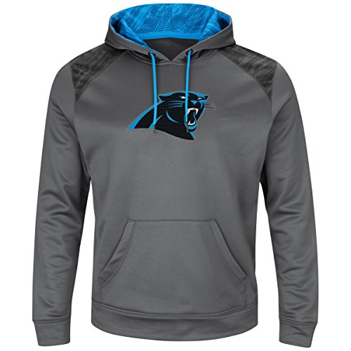 Majestic ARMOR Athletic Hoody - Carolina Panthers grau - S