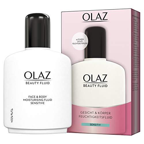 Olaz Beauty Fluid für Gesicht und Körper Sensitive Feuchtigkeitspflege