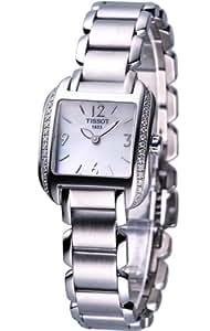 Tissot T-Trend T-Wave T02138582 24 Silver Steel Bracelet & Case Women's Quartz Watch
