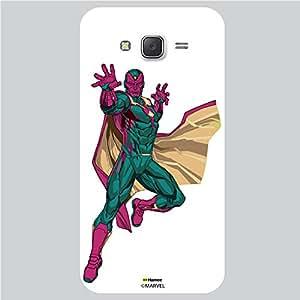 Hamee Original Marvel Character Licensed Designer Cover Slim Fit Plastic Hard Back Case for Xiaomi Redmi 2 (Magneto Action/White )