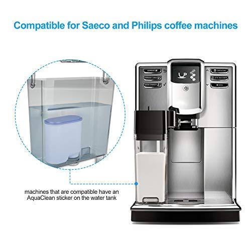 Pl/ástico Philips CA6903//10 Filtro de Agua Aquaclean para M/áquinas de Caf/é Espresso Autom/áticas Verde