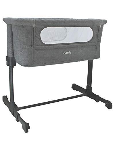 Nania Lit bébé cododo - DODI - Lit d'appoint 2 en 1 - Ultra confort matelas 4cm d'épaisseur...