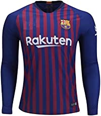 aaDDa Barcelona Home Full Sleeve Jersey with Shorts 2018-2019