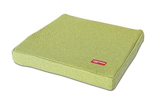 ROOMOX XL Cuscino, Tela, Verde Limone, 42x42x6 cm