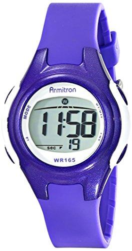 armitron-sport-damen-45-7047pur-lila-und-weiss-digitale-armbanduhr