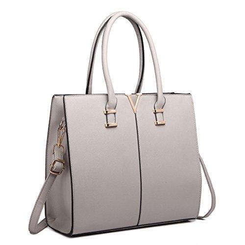 Miss Lulu ,  Damen Unisex Erwachsene Tasche 1666 Grey