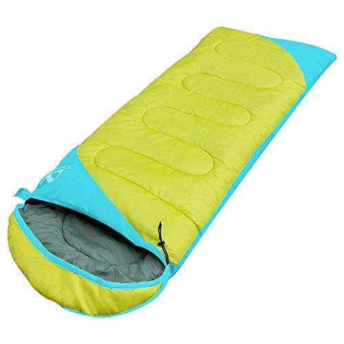 yourjoy 1,35kg 3stagione portatile busta Splice resistente all' acqua calda adulto sacchi a pelo Outdoor Sport Campeggio Escursioni con Carry Bag,