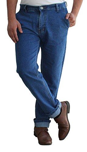 Alan Woods Mens' Stretchable Slim Fit Casual Wear Jeans (AW10JNSFXXLB28)