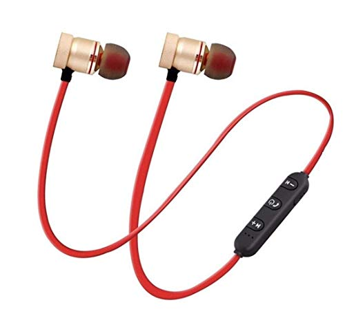 Lowfe Wireless Bluetooth Headphones, Headset with Mic and Volume Button Earphone for Mi Note 5Pro, 6Pro, 6A, Y2, A2, 5, 4, A1, Note7 Pro Image 7